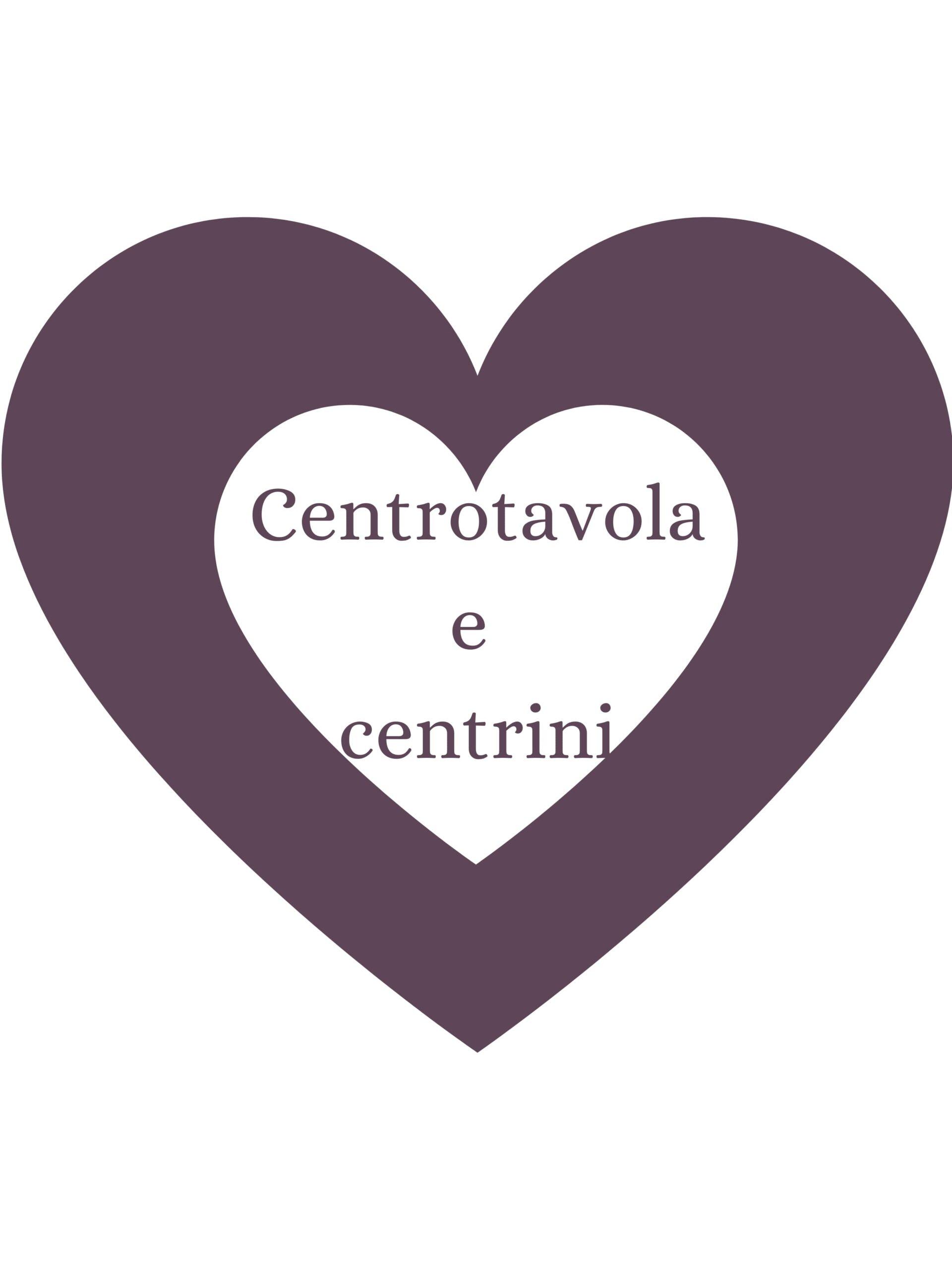 Centrotavola e centrini
