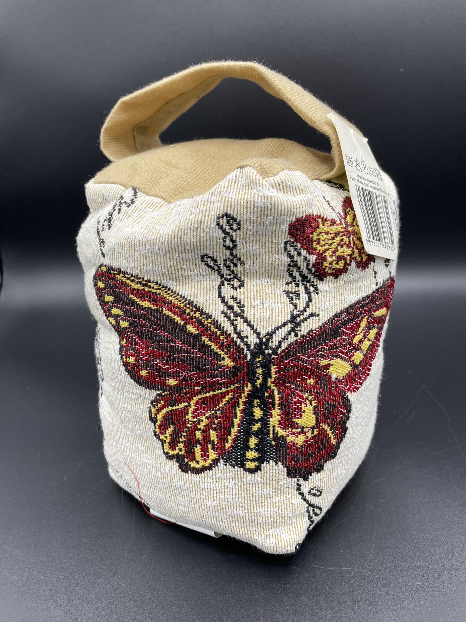 Fermaporta farfalla