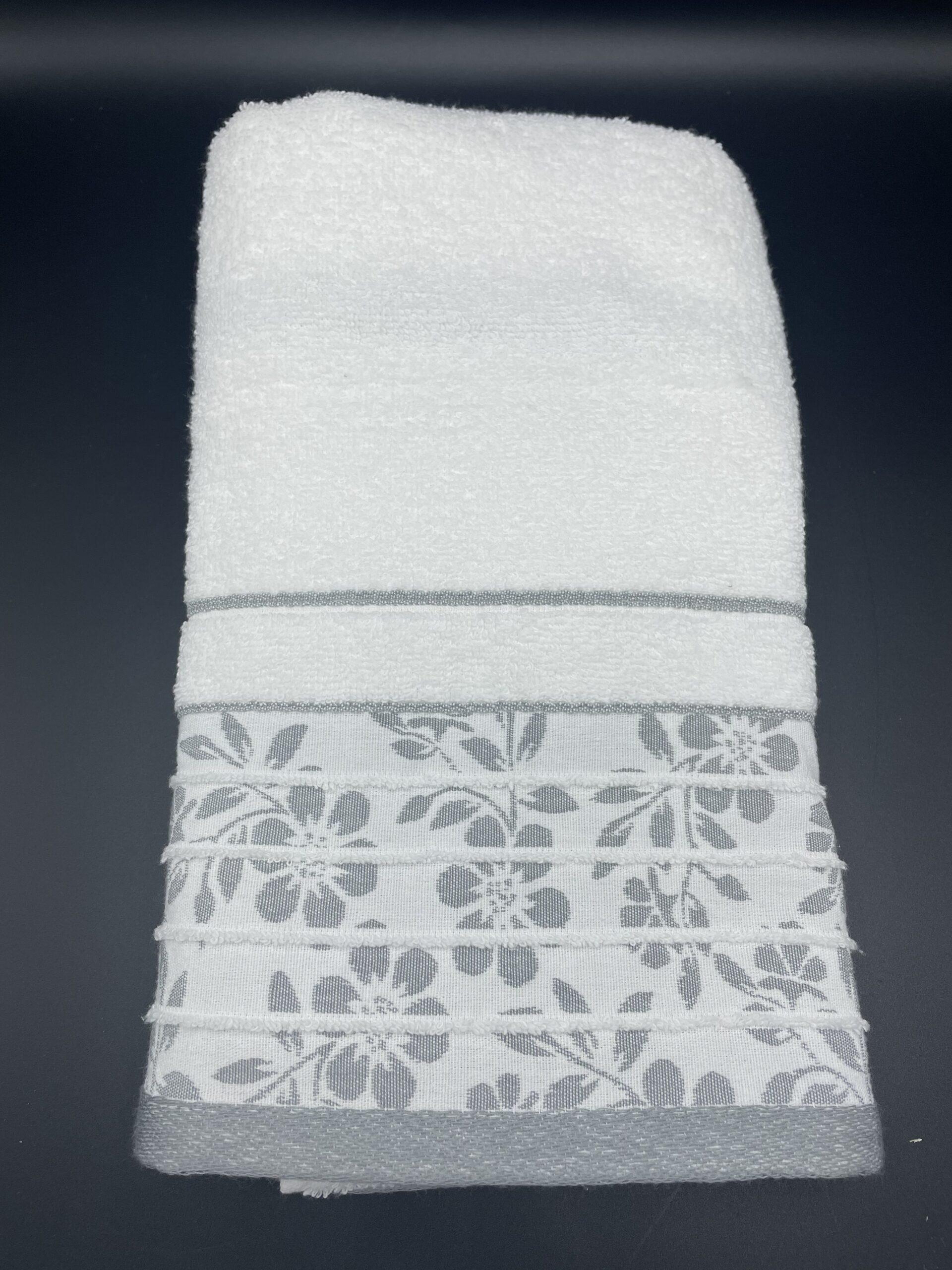 Asciugamani passion grigi