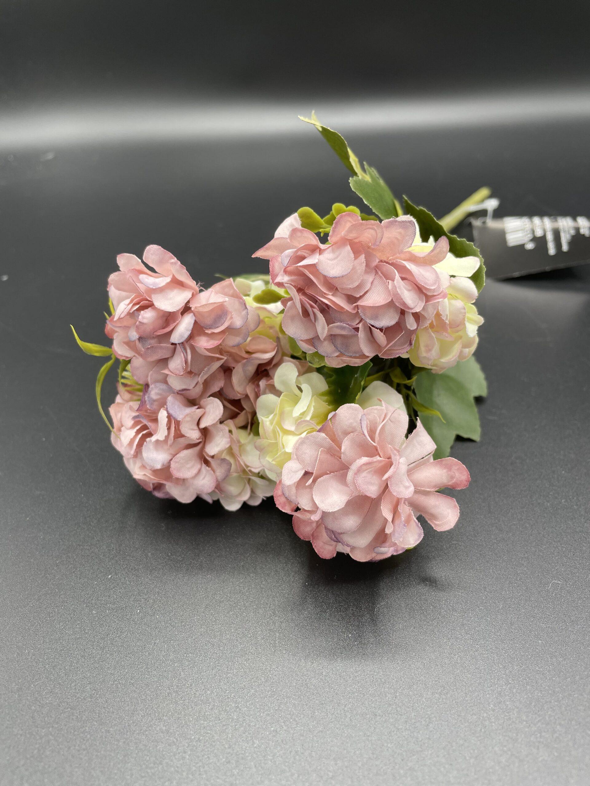 Mazzo fiorellini viola e bianchi