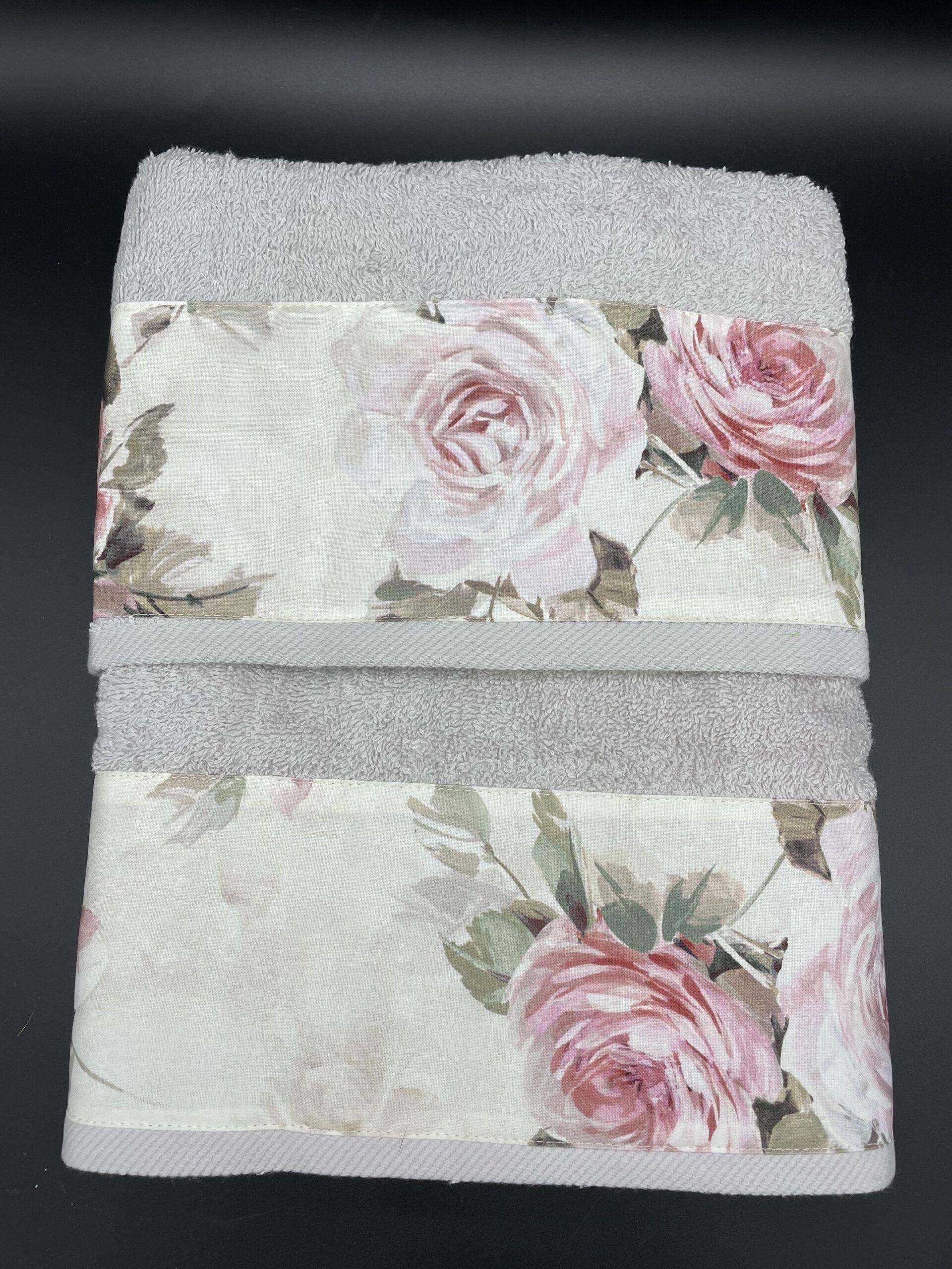 Asciugamani helen grigio