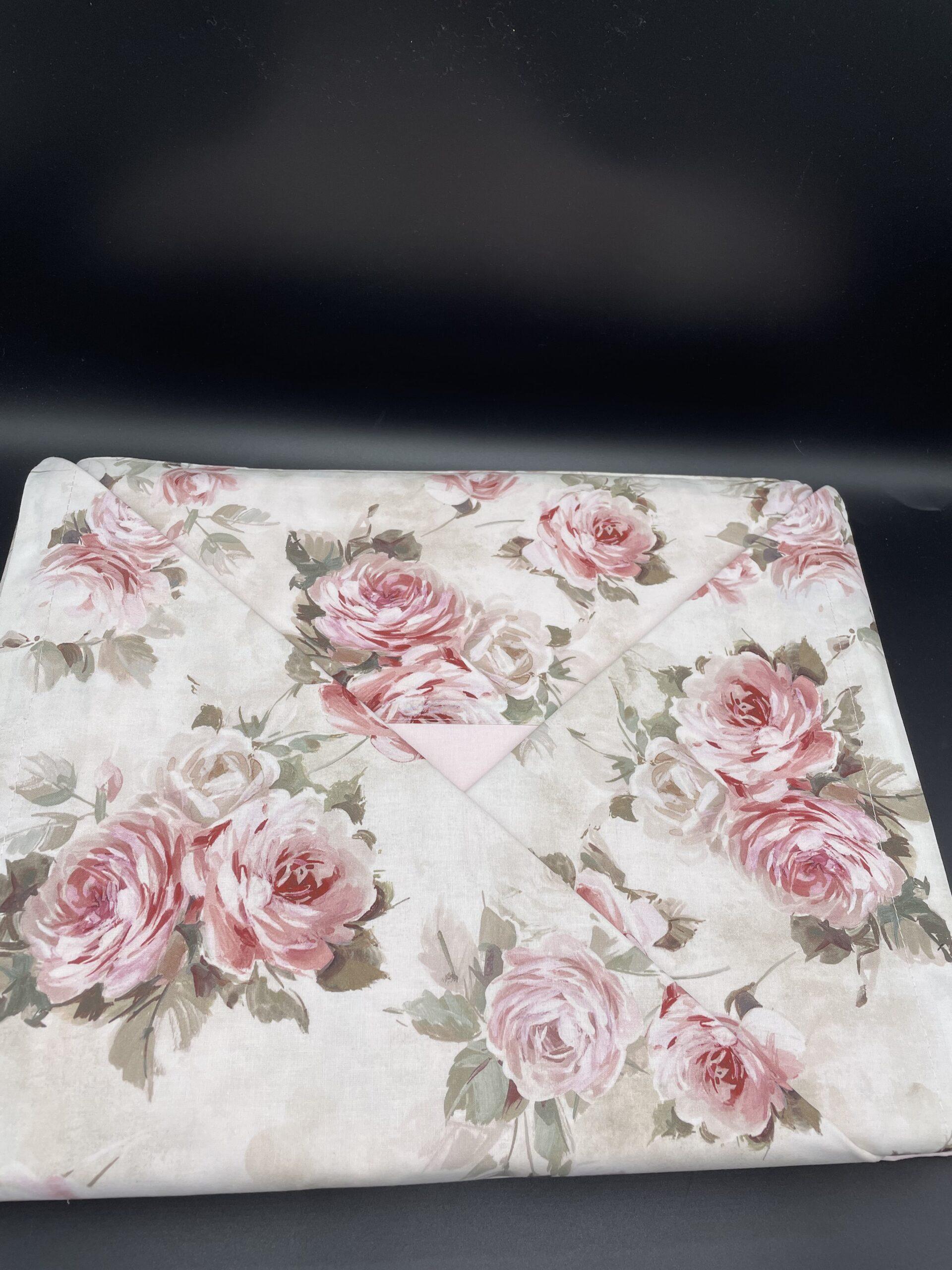 Lenzuola helen matrimoniali rosa