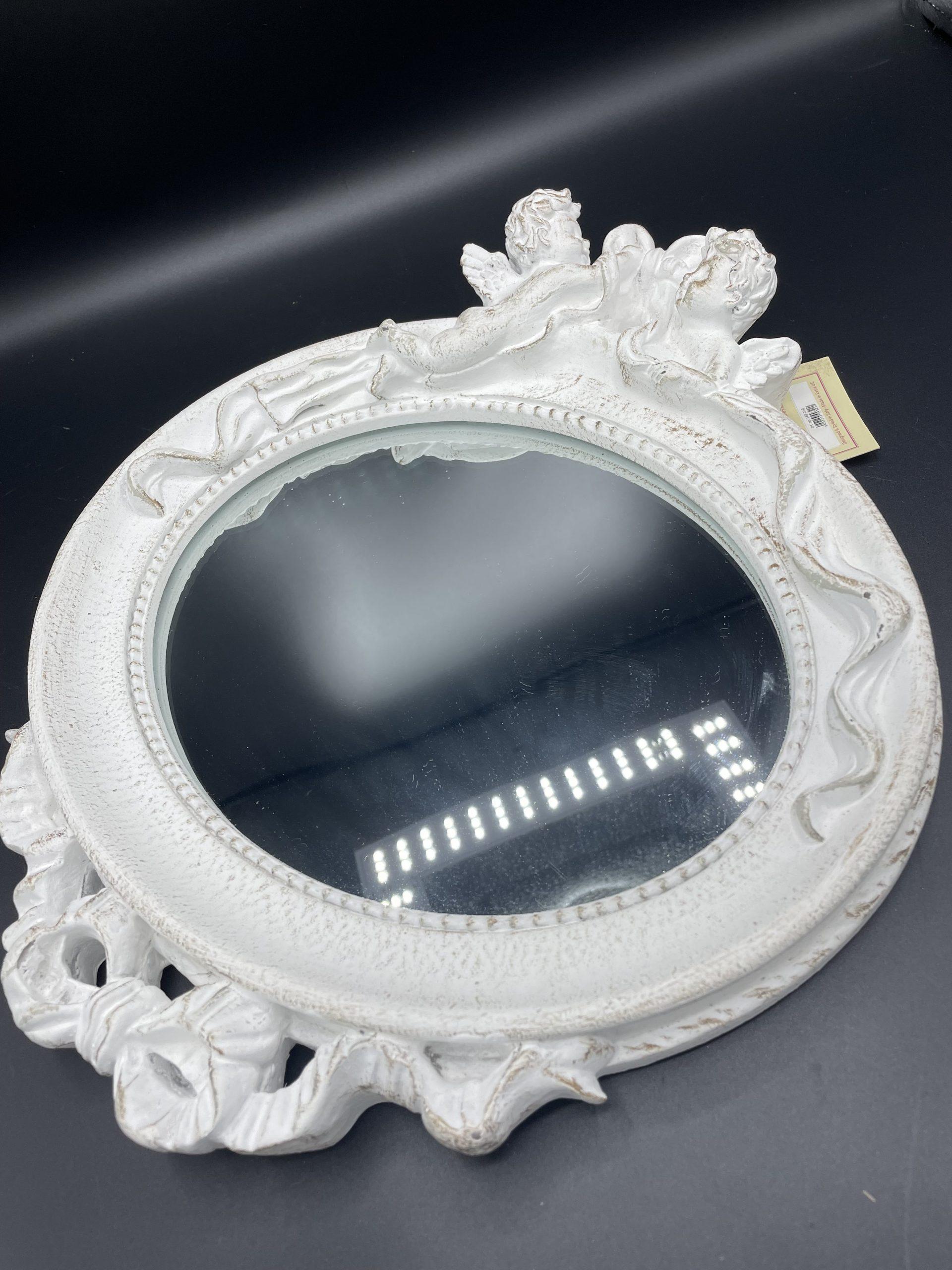 Specchio ovale orizzontale
